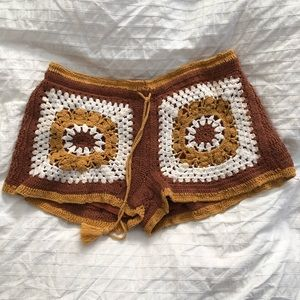 Urban Outfitters Crochet Shorts